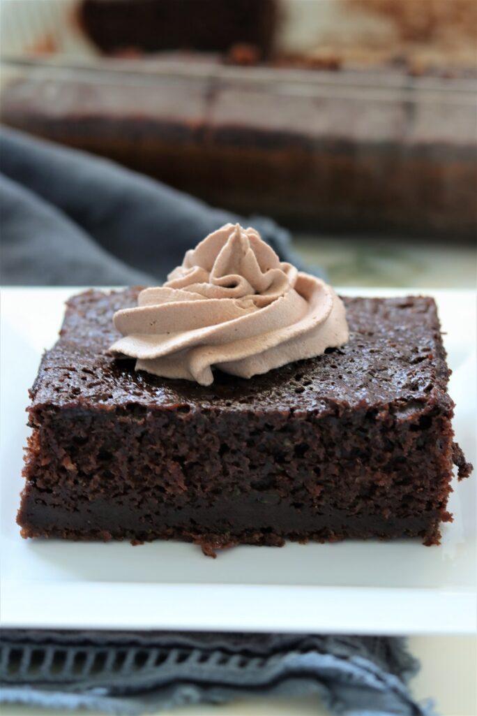 Moist Chocolate Zucchini Cake